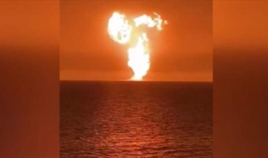 Hazar Denizi'nde Çok Büyük Patlama