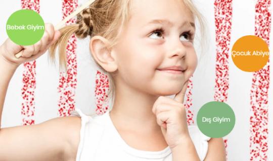 Kız Çocukları İçin Üretilen Gelinlik ya da Elbise Modelleri