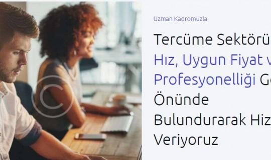 Alanında Uzman Tercüme Bürosu