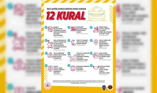 Son Zamanlarda Yaşanan Taksi Sorunu İçin İçişleri Bakanlığı'ndan 12 Hamle Geldi! Peki, Bu 12 Kural Ne?