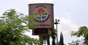 Adana'da Hava Sıcaklığı 40 Dereceye Ulaştı