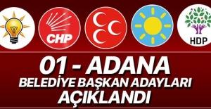 Adana İlçe Belediye Başkan Adayları