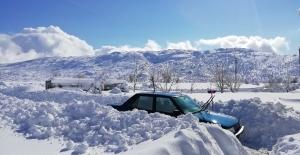 Adıyaman Sincik'te Son Yılların En Yağışlı Kış Ayı Yaşanıyor
