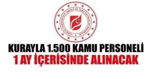 Enerji Bakanlığı Kura İle 1500 Kamu Personeli Alacak