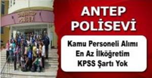 KPSS Şartı Olmadan Polisevi Müdürlüğü Kamu Personel Alımı