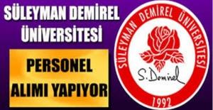 Süleyman Demirel Üniversitesi 20 Beden İşçisi Alımı