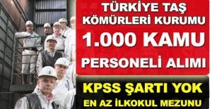TTK KPSS Şartsız 1000 İşçi Alımı Başvuruları Başladı