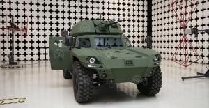 Türkiye'nin İlk Elektrikli Zırhlı Aracı Akrep II Tanıtıldı