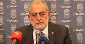 Saadet Partisi İstanbul Seçiminde Adayı Değişmeyecek