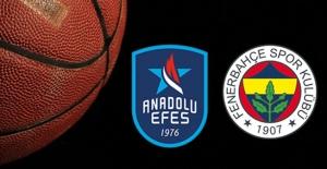 Fenerbahçe Anadolu Efes Serisinde 3. Maç Bugün