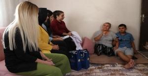 Adana'da Evlere Sosyal Destek