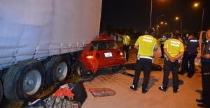 Adana'da İlginç Trafik Kazasında 2 Kişi Yaşamını Yitirdi