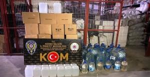 Adana'da Sahte İçki Operasyonu