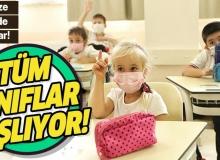 23 Kasımda Tüm Kademelerde Okullar Açılabilir