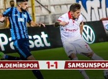 Adana Demirspor 1 Puanı Son Anlarda Kurtardı