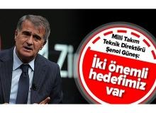 A Milli Futbol Takımı Teknik Direktörü Şenol Güneş'ten Önemli Açıklama