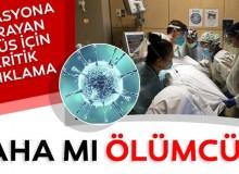 Mutasyona Uğrayan Corona Virüs Tehlikesi Artıyor