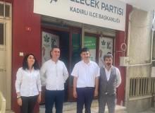 Gelecek Partisi Osmaniye'de kongre heyacanı