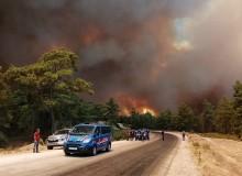 Manavgat'ta 4 Farklı Noktada Yangın Çıktı