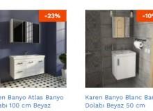 Ucuz Banyo Dolabı Modelleri ve Fiyatlarını Banyonuz'da İncele!