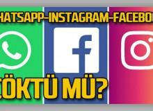 Son Dakika: WhatsApp, Facebook ve Instagram Çöktü Mü? Erişim Engeli Kalktı Mı?