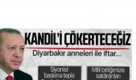 Cumhurbaşkanı Erdoğan'dan Açıklama! Kandil'i Çökerteceğiz!
