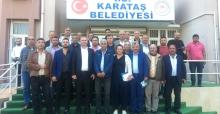 Karataş Belediye Başkanı Necip Topuz'a Muhtarlardan tam destek
