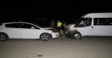 Adana'da Büyük Kaza Ucuz Atlatıldı