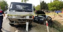 Adana'da Trafik Kazasında 2 Can Kaybı