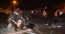 Adana'da Katliam Gibi Kaza