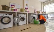 Adana'da İhtiyaç Sahiplerine Çamaşırhane Hizmeti