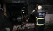Adana'da Müstakil Bir Eve Benzin Dökerek Ateşe Verdiler!
