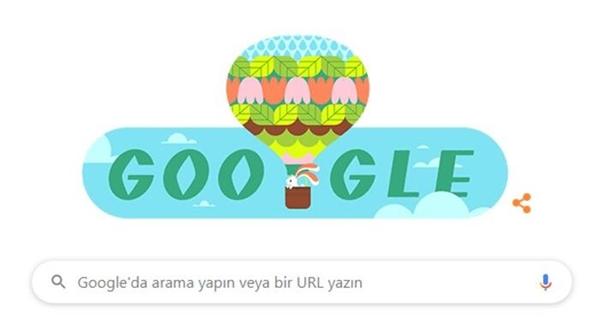 Google'dan İlkbahar Geldi! Doodle'ı
